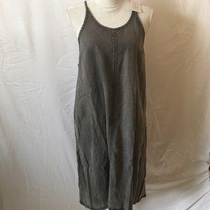 NWT• Mudd• Denim Swing dress . Size L